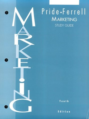 Marketing: Concepts and Strategies Study Guide (Ferrell Marketing-strategie)