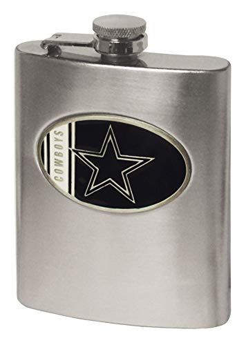 Simran International NFL Flachmann, Dallas Cowboys, 8-Ounce