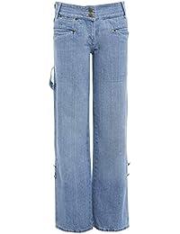 1ad7a0fbe411 SS7 FEMMES Garçon Jeans en vrac bleu denim jeans femmes taille 10 12 14 8