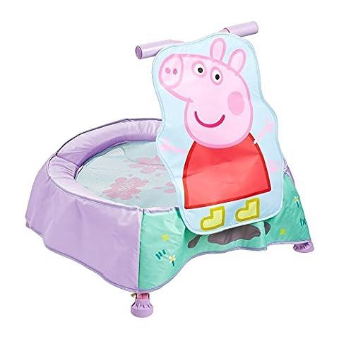 Peppa pig: Trampolin mit Sounds für Kleinkinder