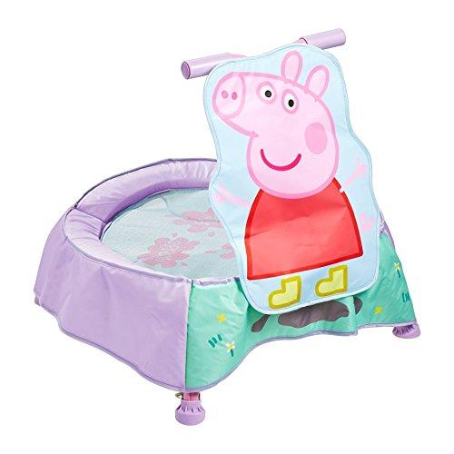 Peppa Pig Trampolin mit Sounds für Kleinkinder