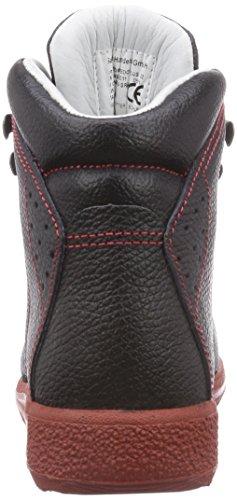 MTS Sicherheitsschuhe Santos Professional Torpedo Plus S2 Hi 4933, Chaussures de sécurité mixte adulte Noir - Noir