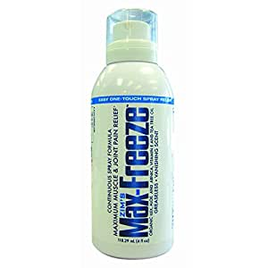 Max-Freeze Continuous Spray, 4-Ounce