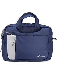 Chris & Kate Multi-use, Multi-Way Blue Laptop Bag, Messenger Bag, Backpack, Sling Bag, Shoulder Bag, Laptop Messenger Bag