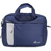 Chris & Kate Blue 4-Way Laptop Bag - Hand   Shoulder   Backpack Bag   Messenger Bag