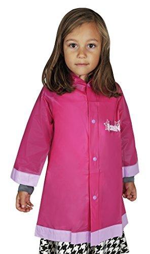 Disney Frozen Elsa and Anna Girls Rain Slicker Raincoat
