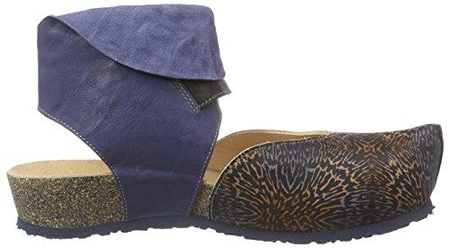 THINK! Kessy Sandale, Damen Knöchelriemchen Sandalen, Blau (JEANS 83), 39 EU -