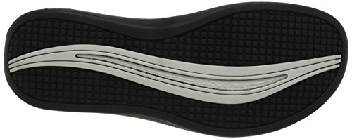 New Balance Women's Revive Athletic Thong, White/Black, 11 M US White/Black