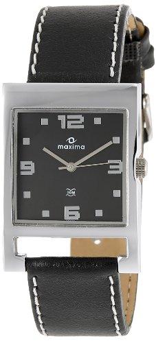 Maxima Attivo Analog Black Dial Men's Watch - 25681LMGI image