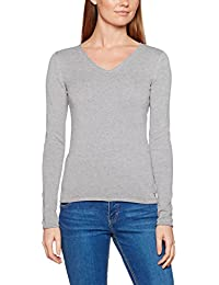 Tom Tailor Basic V-Neck Sweater, Pull Femme