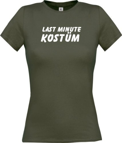 Last Minute Kostüm Fasching Kostüm Verkleidung, Farbe grau, Größe XL (Last Minute Kostüme Frauen)