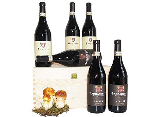 Barolo e Barbaresco i Grandi Vini del Piemonte - Regalo Speciale Vini Migliori delle Langhe - Cod. 245