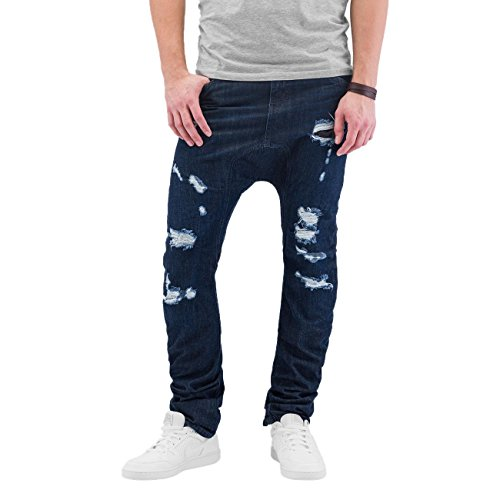 Just Rhyse Herren Jeans / Antifit Ole Blau