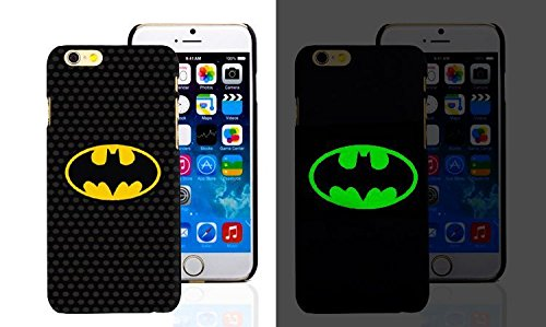 RONNEY'S Luminous PC BLACK Hard Case for Apple Iphone 5/5S/5SE FAIRY BATMAN