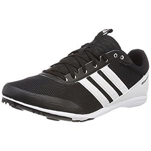 adidas Damen Distancestar Leichtathletikschuhe, schwarz