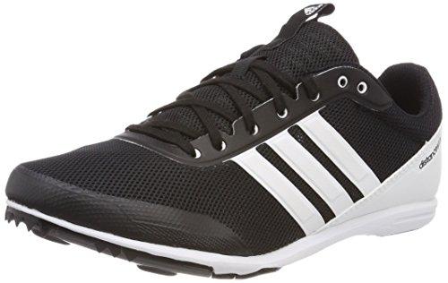 adidas Damen Distancestar Leichtathletikschuhe, Schwarz (Negbas/Ftwbla/Naalre 000), 38 2/3 EU