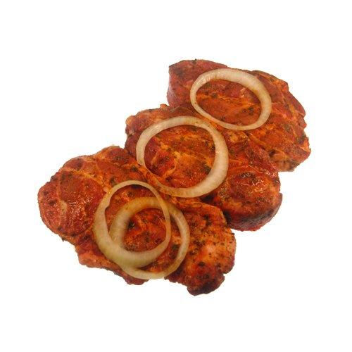 Eingelegte Steaks vom Schweinekamm 3 Stueck ca. 600 g