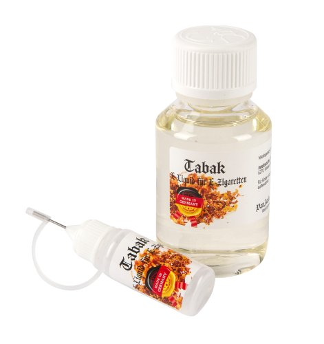 100ml VanAnderen® - TABAK - Neue Rezeptur! - PREMIUM E-Liquid + Nadelcapflasche - mit Nikotin 0,0mg
