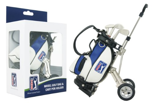 PGA Tour Gadget Desktop Golf Bag and Pen Gift Set