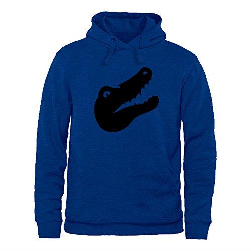 shanguo Men Sweatshirt Hoodie Cute Vintage Crocodile Top Pullover Outwear Jacket M