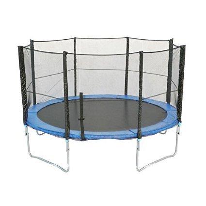 Filet de sécurité de rechange pour trampoline de Ø366cm 8barres-- filet de sécurité seulement , Sans trampoline ni armature / coussin