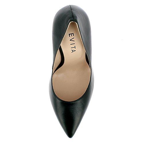 Evita Shoes Lisa, Scarpe col tacco donna Verde scuro