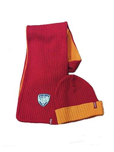 LEVI'S – Bufanda y gorro, niña, Color: rojo/naranja, Talla: 1 años (54/60 cm)