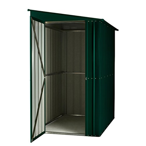 Global 46 SOLID HG Lotus Lean-to Shed, Green, 4×6