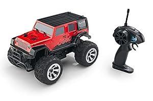 Revell Control- RC Car Jeep Wrangler Rubicon Juguetes a Control Remoto, Color Negro (24464)