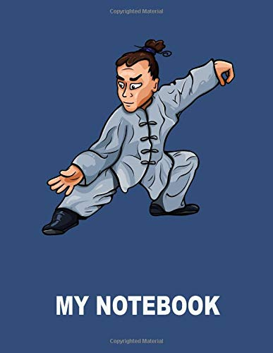 Price comparison product image My Notebook. For Kung Fu Martial Arts Fans. Blank Lined Journal Planner Diary.