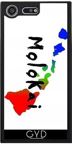 SilikonHülle für Sony Xperia XZ Premium - Molokai Hawaii by loki1982 (Insel Molokai Hawaii)
