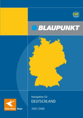 Teleatlas CD Deutschland 2007/2008 TravelPilot DX