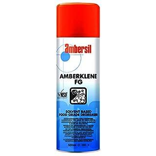 30242-AA AMBERSIL AMBERKLENE FG NSF REGISTERED BIODEGRADABLE SOLVENT DEGREASER 500ML AEROSOL