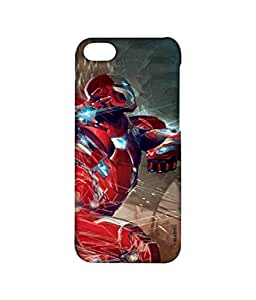 Ironman Attack Phone Cover for iPhone 4 by Block Print Company
