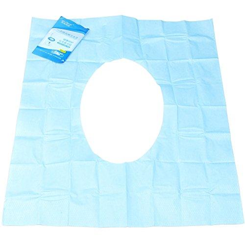 Sumaju Copriwater monouso 30 pezzi 3 confezioni colore: blu e bianco Blue/&White in ospedale o a casa ideali da usare in viaggio
