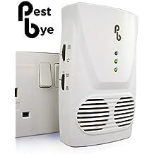 PestBye–Repelente de rata y ratón pb0002e para toda la house-electromagnetic y ultrasonidos