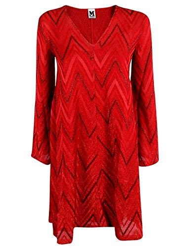 M Missoni Damen 2Dg000202j0005l4016 Rot Baumwolle Kleid (M Missoni Kleider Für Damen)