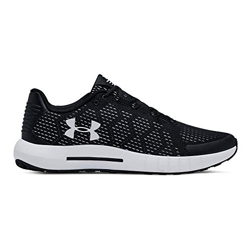 Under Armour Micro G Pursuit Se, Scarpe Running Uomo, Nero (Black White 003), 42.5 EU
