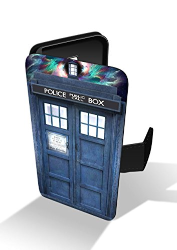 37f58536d Doctor Who Tardis Police Faux Leather Phone Case for iPhone 7