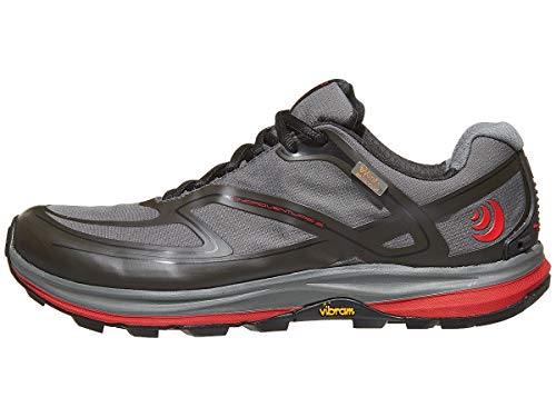 Topo Athletic Hydroventure 2Trail Running Shoe-Uomo, Uomo, Olive/Red, 8.5 D(M) US