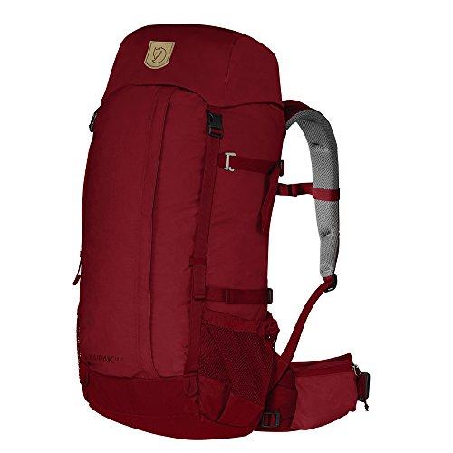 Fjällräven Kaipak 38 Women - Rucksack für Frauen aus G1000 red wood 330
