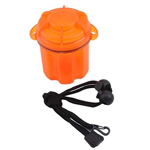 MOONQING Dry Bag wasserdichte Umhängetasche zum Schwimmen am Strand - Schützen Sie das Bargelddokument der Kamera vor Wasser und Schmutz, Orange