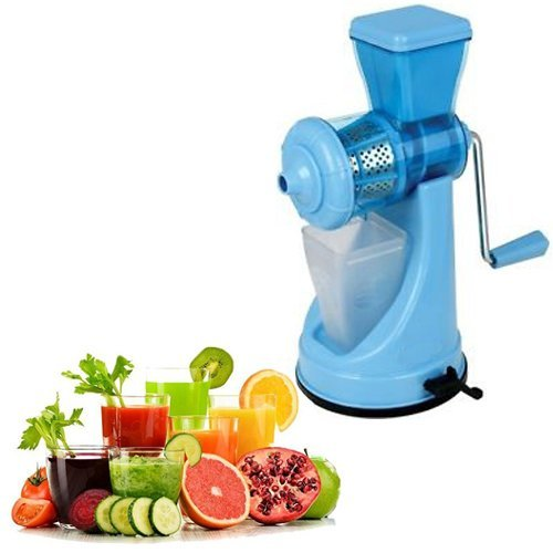 Saffron Fruit & Vegetable Juicer Mixer Grinder with Steel Handle, Blue- Special For Winter Season -AZ5012  available at amazon for Rs.325
