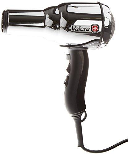 Valera 584.01/I - Secador de pelo con 2 velocidades, Motor DC-Pro, Ionic System, 2000 W, color plateado/negro