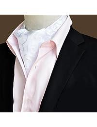 afa38c8c18da LIANGJUN Hommes Elegent Cravate Tie Foulard Soie Cravate Écharpe Mariage  Chemise Bureau Occasions Formelles, 118X16cm