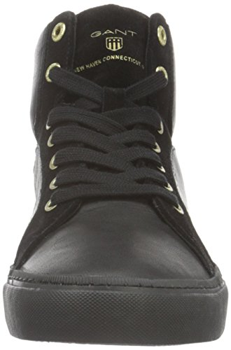 Gant Alice, Baskets Basses Femme Noir - Schwarz (black G00)