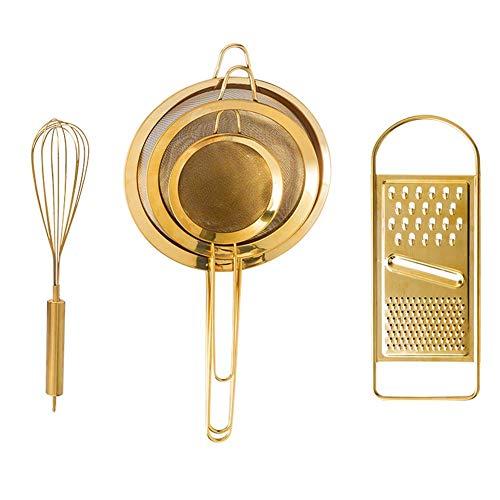DUDDP juego de utensilios Juego de Utensilios de Cocina Herramientas for Hornear Creativas, Acero Inoxidable...