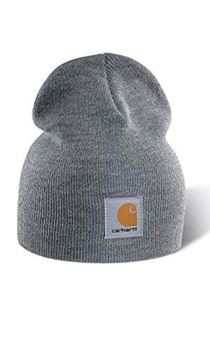 Carhartt A205 Strickbeanie Cap Grau Mützen Hüte Beanie Hut
