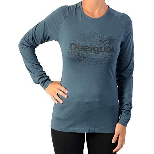 Desigual Damen TS_Tank CO Essential T-Shirt Peacoat S Preisvergleich