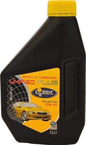 Olio Lubrificante per Motore Auto mod.Unified Plus 15W-40 1Lt